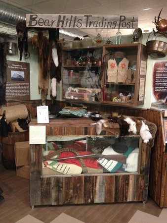 Wetaskiwin and District Heritage Museum: Bear Hills Trading Post exhibit