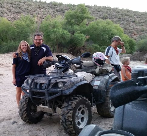 Adventures of a Lifetime ATV: My daughter and I having a great time :)