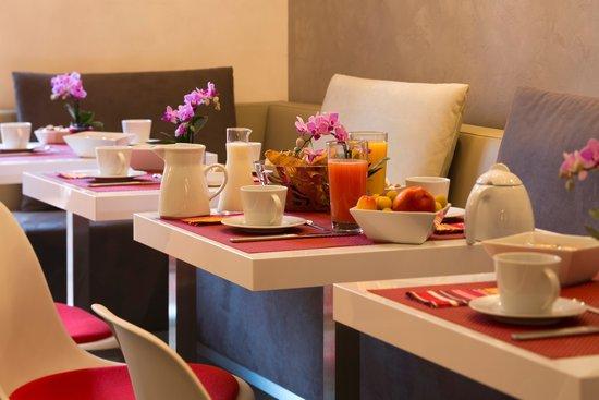 Hotel des Arceaux: Petit déjeuner