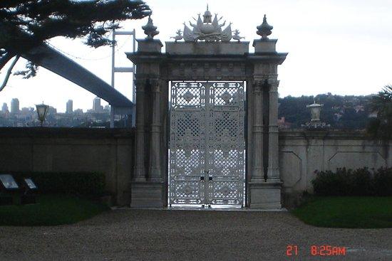 Beylerbeyi-Palast (Beylerbeyi Sarayı): porticos