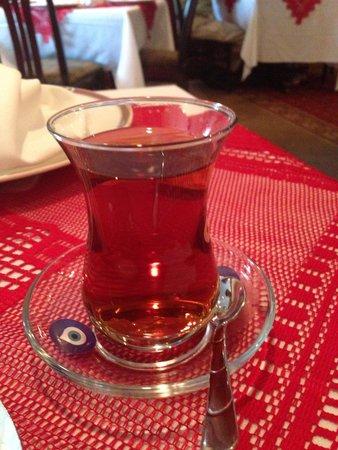 Topkapi Turkish Restaurant: Turkish Tea