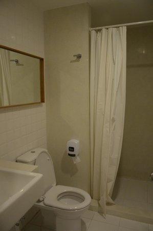 Chern Hostel: The shower