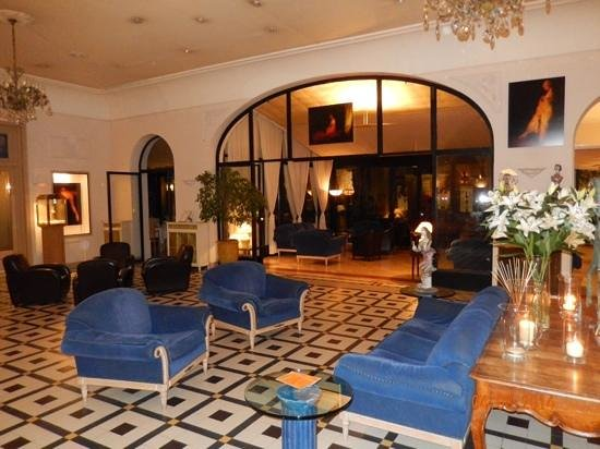Hôtel Imperator : reception area