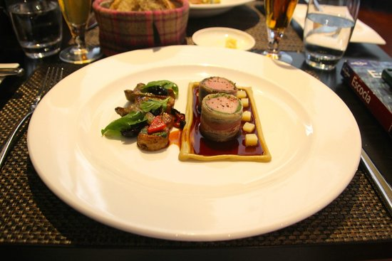 Castle Terrace Restaurant: Carne