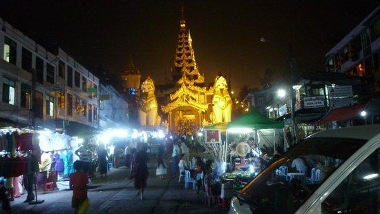 Pagode Shwedagon : В приближении