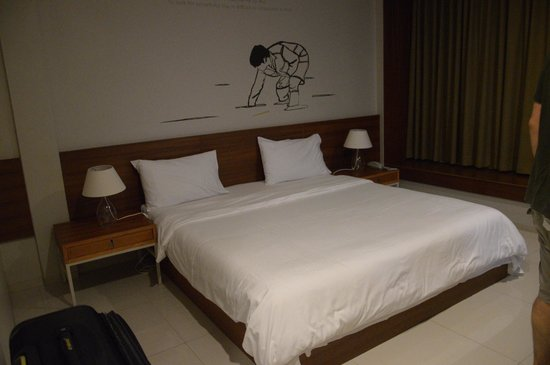 Chern Hostel: The bed