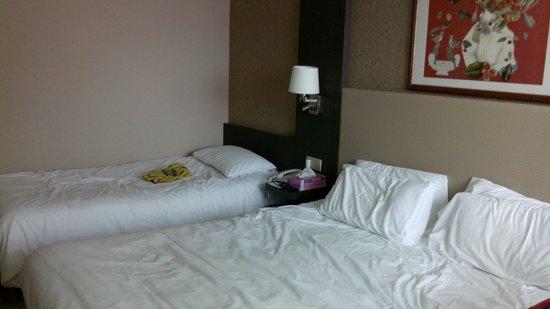Mercure Cabourg Hippodrome : les lits