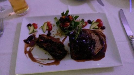 Le Ti Provencal: seared foie gras