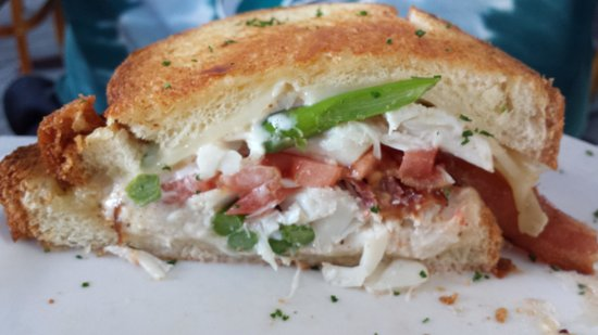 Food For Thought: Crab Brie Asparagus Grilled Cheese