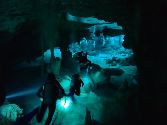 Your Private Tour : Divers at Dos Ojos