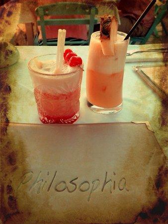 Philosophia Beach Restaurant: Lovely cocktails