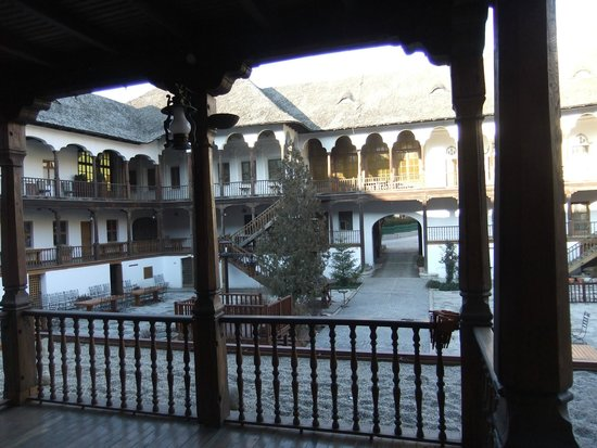 Manuc's Inn (Hanul lui Manuc): The Courtyard from Upstairs