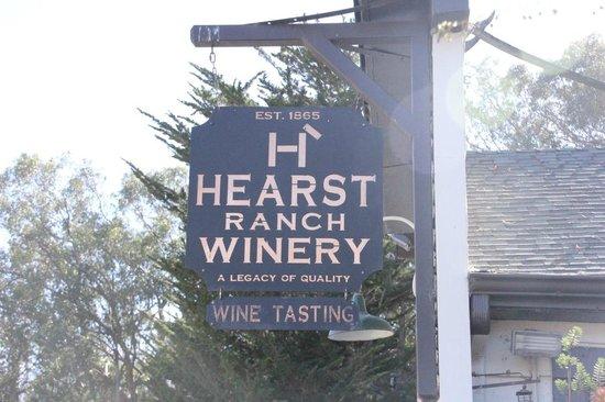 Hearst Castle : Winery in San Simeon