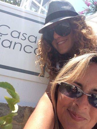Susana y Rosa en Casa Bianca