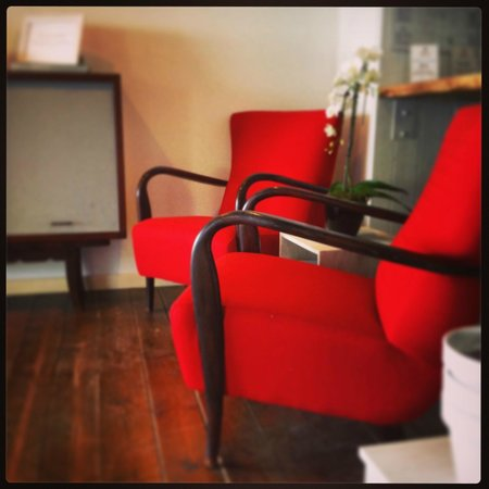 Hotel LaMorosa: Saletta lettura