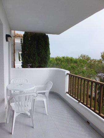 Inturotel Cala Azul Garden: Balcon