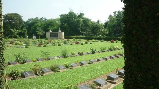 Cimetière militaire de Taukkyan : Кладбище