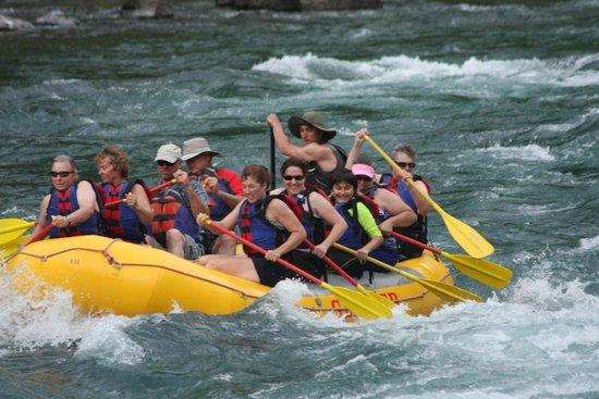 Glacier Raft Company: Glacier Rafting Company - our trip