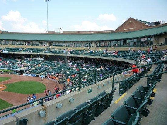 Stadium Seating Picture Of Louisville Slugger Field