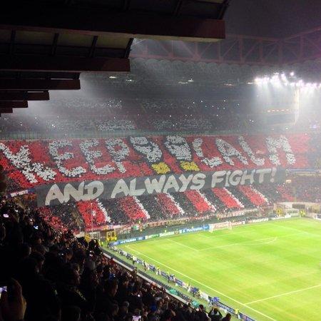 Stadio Giuseppe Meazza (San Siro): Milan - Barcellona, Champion's League 2013/2014