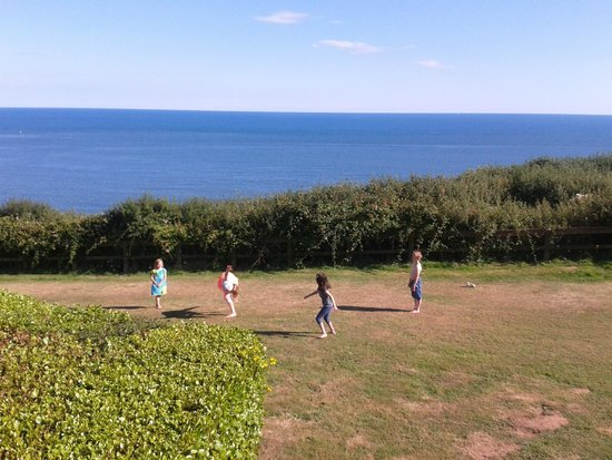 Devon Cliffs Holiday Park - Haven: The view from our caravan