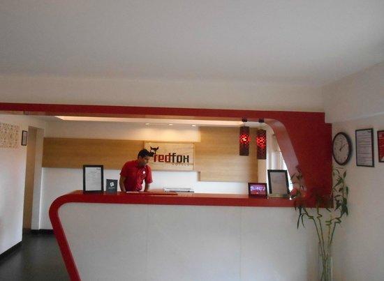 Red Fox Hotel Jaipur: Friendly reception