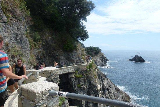 Footpath Monterosso - Vernazza: een beter stuk van de pas tussen Monterosso en Vernazza