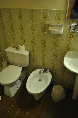 Inter Hotel Panorama : bagno con bidet
