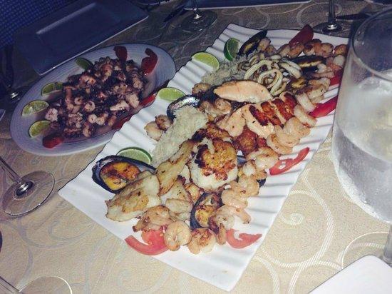 Gran Caribe Resort: COMIDA