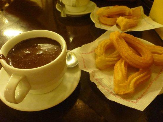 Granja Dulcinea: churros & chocolate