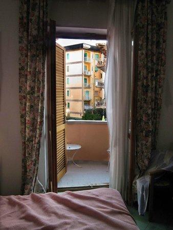 Hotel Villa Maria : View from 1st floor bedroom