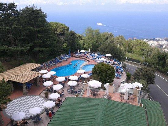 Grand Hotel Hermitage & Villa Romita: Vue Piscine