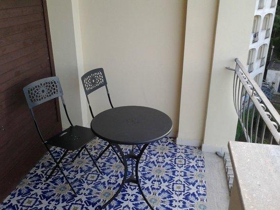 Grand Hotel Hermitage & Villa Romita: Terrasse chambre