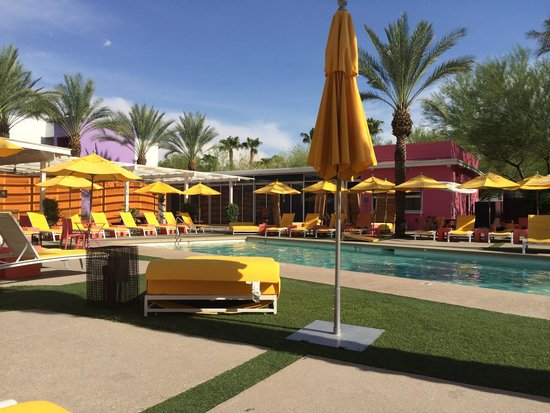 Saguaro Scottsdale : Perfect July day spent by the pool