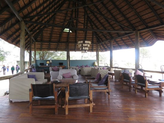 Maramboi Tented Camp: chilling area
