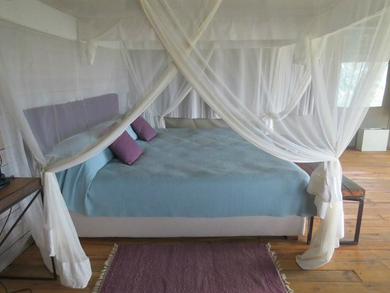 Maramboi Tented Camp: comfy beds