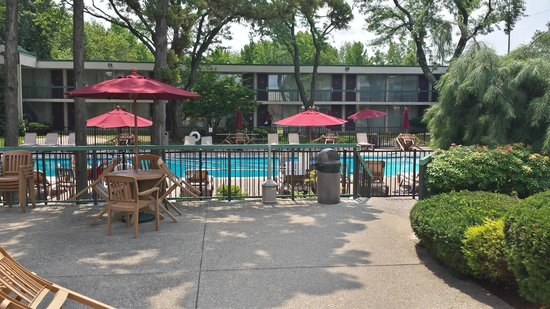 Ramada Wayne Fairfield Area: Great day for a swim.