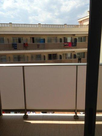 H TOP Royal Star & SPA: vue depuis le balcon