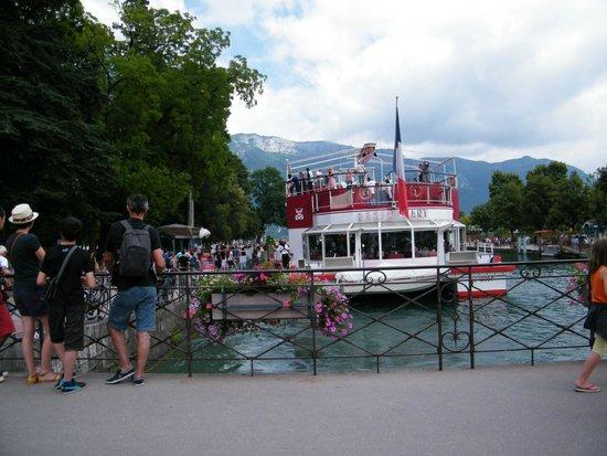 Lac d'Annecy : Magnifique
