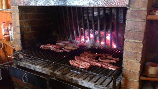 La Cirera: Carne a la brasa