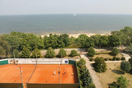 Novotel Gdansk Marina: widok z okna