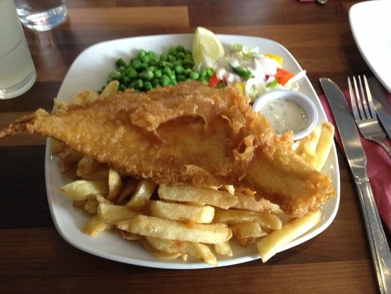 Cafe Sixty Six: Fish & Chips