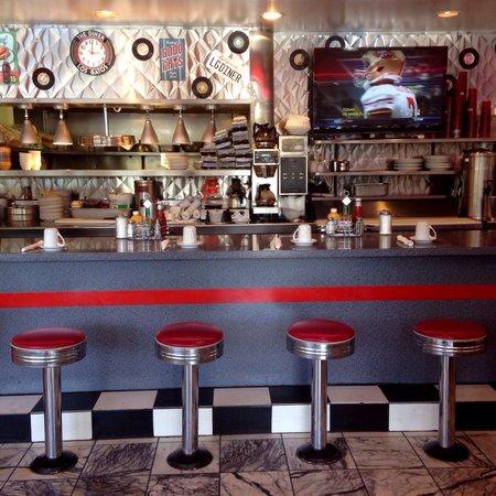 The Diner : Diner bar.