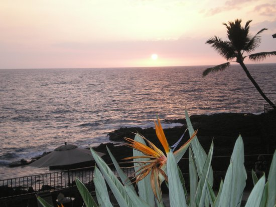 Wyndham Royal Sea Cliff: We get to see this every night!