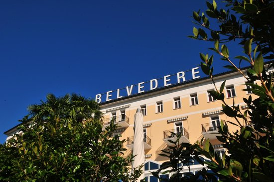 Hotel Belvedere Locarno : Nice front of the hotel