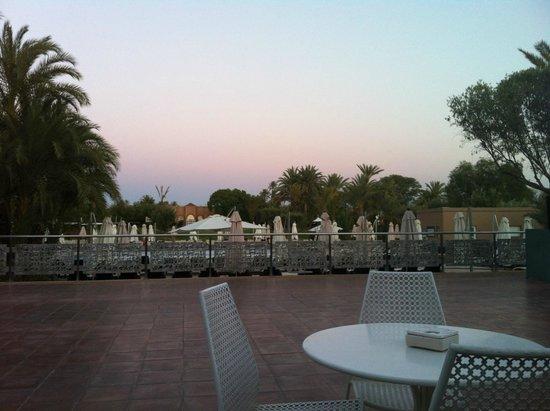Pullman Marrakech Palmeraie Resort and Spa : Terrace