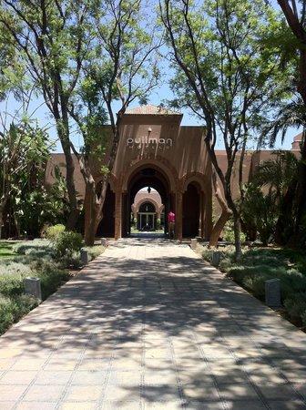 Pullman Marrakech Palmeraie Resort and Spa : Entrance