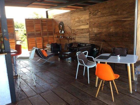 Camino del Sol: Lounge area