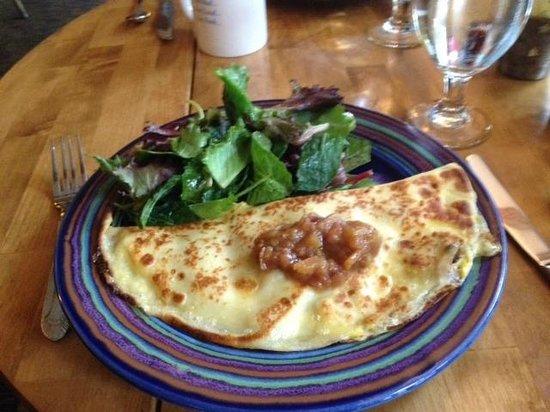 The Inn at Weathersfield: Breakfast Crepe