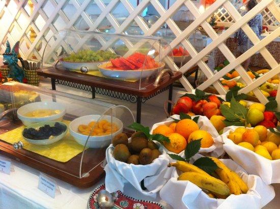 Hotel Poseidon: una parte della colazione